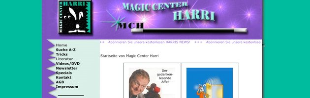 Zaubershop Magic Center Harri