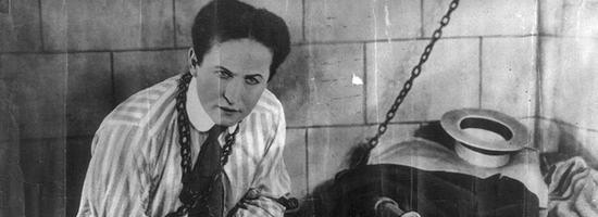 Zauberer Harry Houdini
