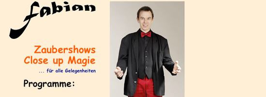 Zauberer Fabian Rabe aus Bremen