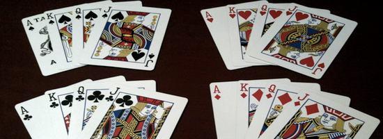 Kartentrick Geschichte
