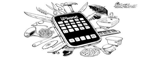 Zaubertricks mit iPhone
