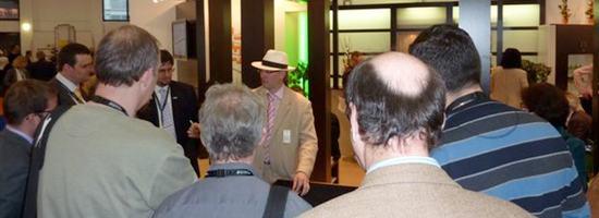 Messezauberer auf dem Röntgenkongress Berlin