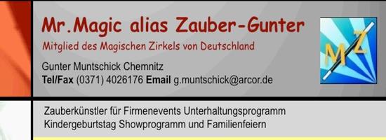 Zauberer Gunter – Chemnitz