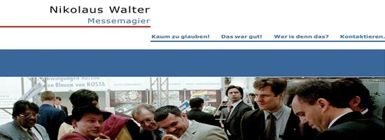 Messemagier Nikolaus Walter aus Hamburg