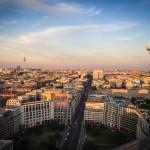 Blick zum Fernsehturm Berlin 2