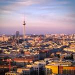 Blick zum Fernsehturm Berlin